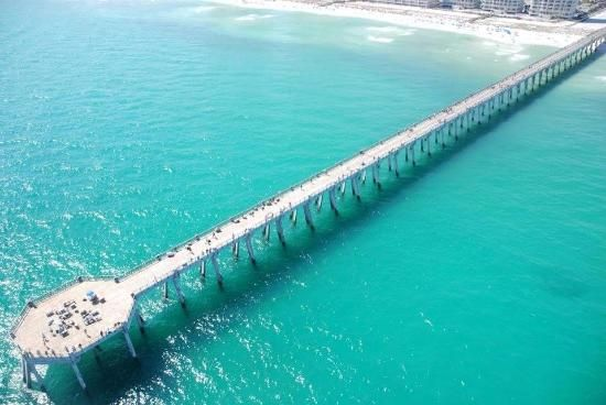 Navarre Beach Hotels | Navarre Beach Photo: Longest Pier into the Gulf of Mexico
