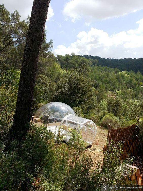 dormir dans une bulle attrap 39 r ves la bouilladisse pour. Black Bedroom Furniture Sets. Home Design Ideas