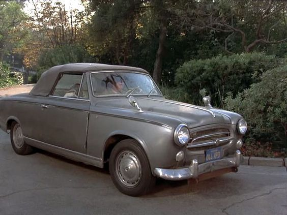 columbo 39 s old peugeot he was always proud it was a french car vroom vroom pinterest cars. Black Bedroom Furniture Sets. Home Design Ideas