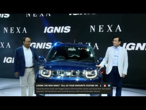 The Wait Is Finally Over Get Ready To Beat The Urban Chaos With The New Ignis Keep Watching The Live Webcast For The In 2020 Facelift Suzuki Personalized Experience