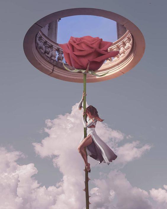 Digital Photo Collages of Dreamlike Scenes by Kamila Lenarcik #photography #dreamlike #surreal #manipulation #art