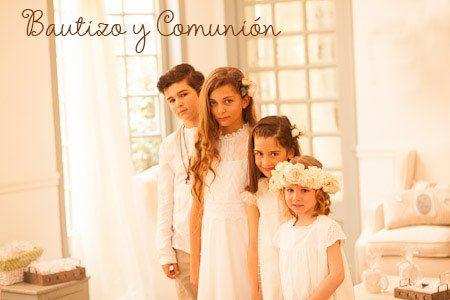 fotografia niños primera comunion