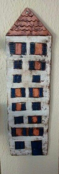 Casinha rústica em ceramica