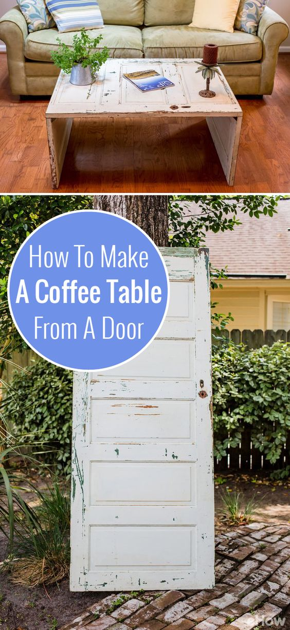 Pinterest the world s catalog of ideas for How to turn an old door into a table
