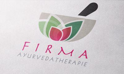logo design wellness / therapy / aryurveda