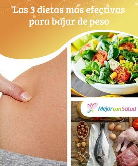 dietas sanas y efectivas para bajar de peso