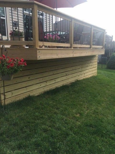 Everything About Deck Skirting Ideas Cheap Diy Lattices Rock