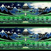 Hobbit Half Yard Skirts - retropopsugar - Spoonflower