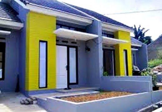 Cat Dinding Luar Rumah Terkini Desainrumahid Com 20 Contoh