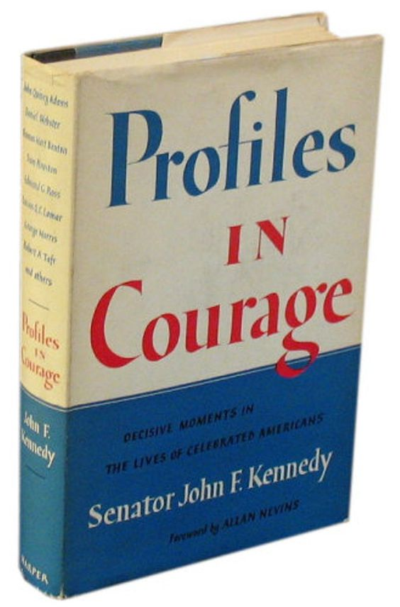 .. [Author	John F. Kennedy Subject	United States Senators Genre	Biography Publication date	1955 Pages 272[Profiles in Courage is a 1957 Pulitzer Prize-winning volume of short biographies describing acts of bravery and integrity by eight United States Senators throughout the Senate's history