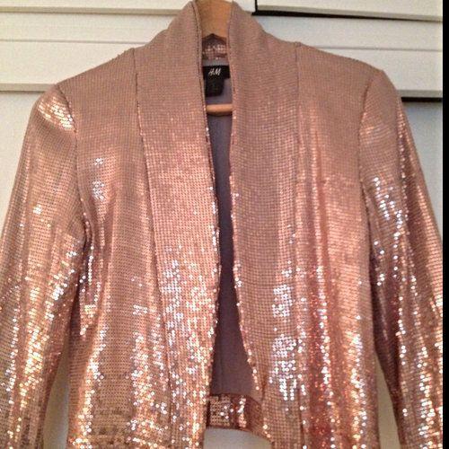 H&M Sequin Jacket  - $35