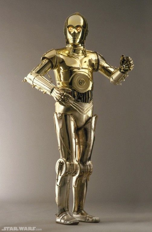 C 3po from starwars robots pinterest suits daniel o - Robot blanc star wars ...
