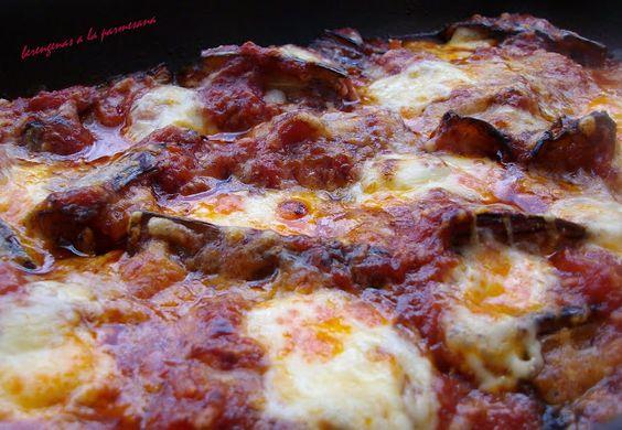 Receta de berenjenas a la parmesana:  Pizza Pie, La Parmesana, Eggplant, Recipe Of