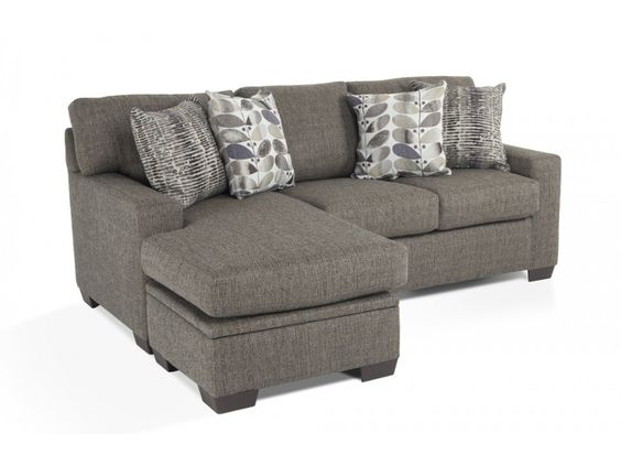 Chaise sofa sofa sleeper and discount furniture on pinterest for Beeson fabric queen sleeper chaise sofa