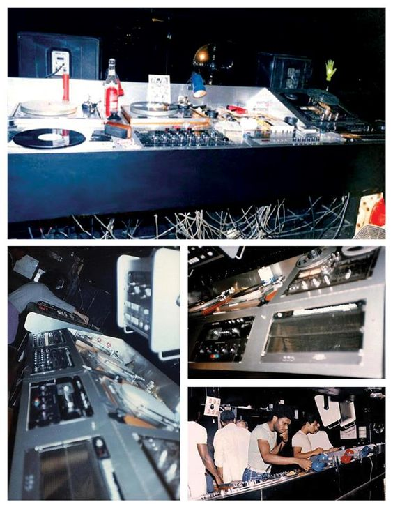 Ubiquity Records Dj Booth at Paradise Garage...