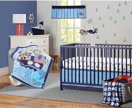 Paseo en barco bebe and blog on pinterest for Decoracion nautica infantil