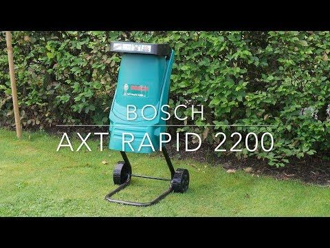 Bosch Axt Rapid 2200 Shredder Youtube Bosch Shredder Plunger