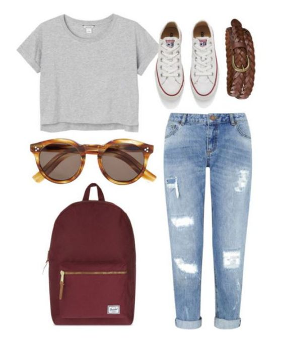 20 First Day Of School Outfit Ideas For College Girls , Outfits GoalAugust Outfits2017