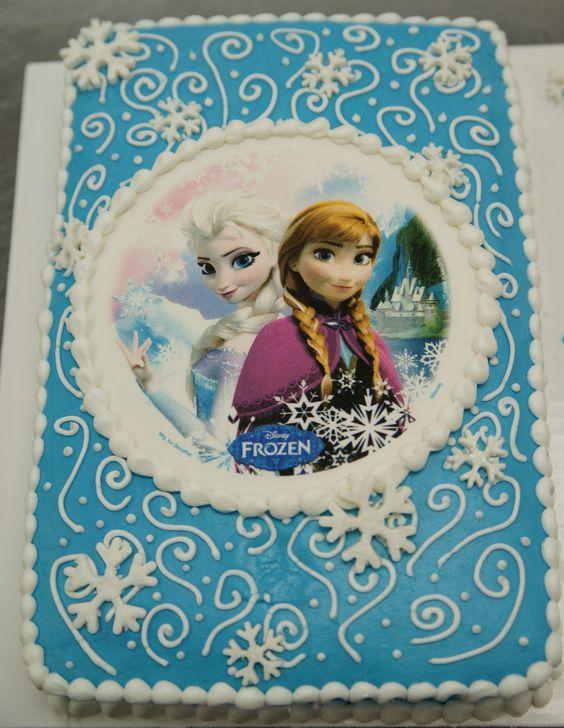 frozen sheet cake Google Search Maddy Pinterest Frozen sheet