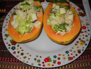Como Preparar Receta De Papayas Marineras Estilo Colombiano