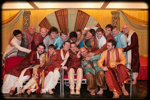 dhotis, sherwanis...these guys are hot!