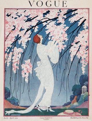 Vogue, April 1919: Helen Dryden, Couvertures De Magazines, Couvertures Vogue, Illustration, Vogue Millésime, Vintage Magazine, Vogue Magazine, Art Déco