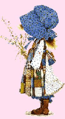 Holly Hobbie! Loved her. @Anny Dennis, remember our sheets?!