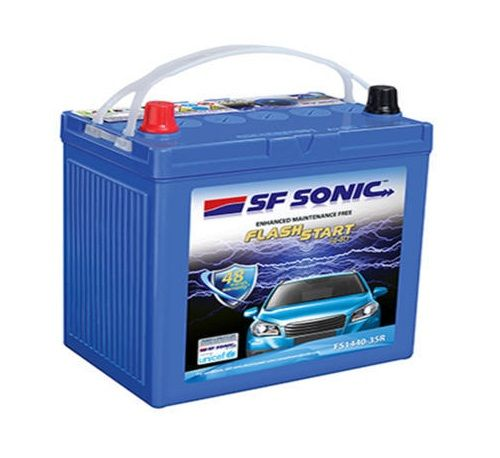 Moxikart Is One Of The Leading Online Car Battery Store In India Which Offers You To Buy Sf Sonic Car Batteries Online In Sonic Car Car Battery Car Batteries