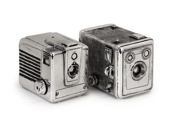 2 Piece Vintage Camera Box Set