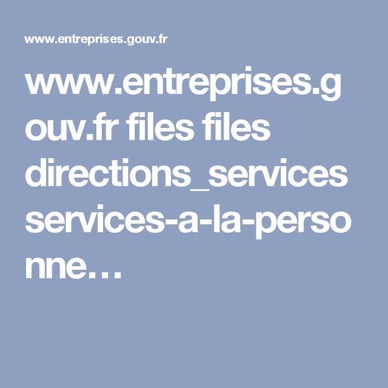 www.entreprises.gouv.fr files files directions_services services-a-la-personne…