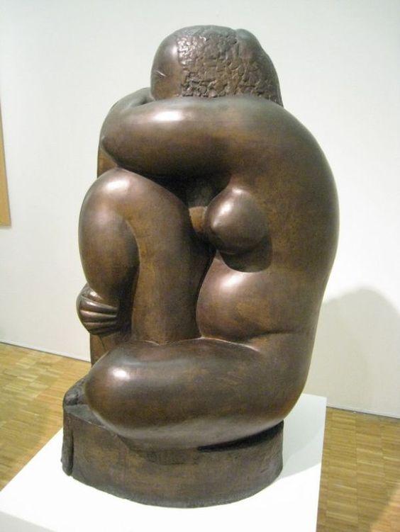 Chana Orloff: Femme accroupie, 1925