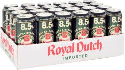 Bia Royal Dutch Post Horn Extra Strong 8,5% - Lon 500ml
