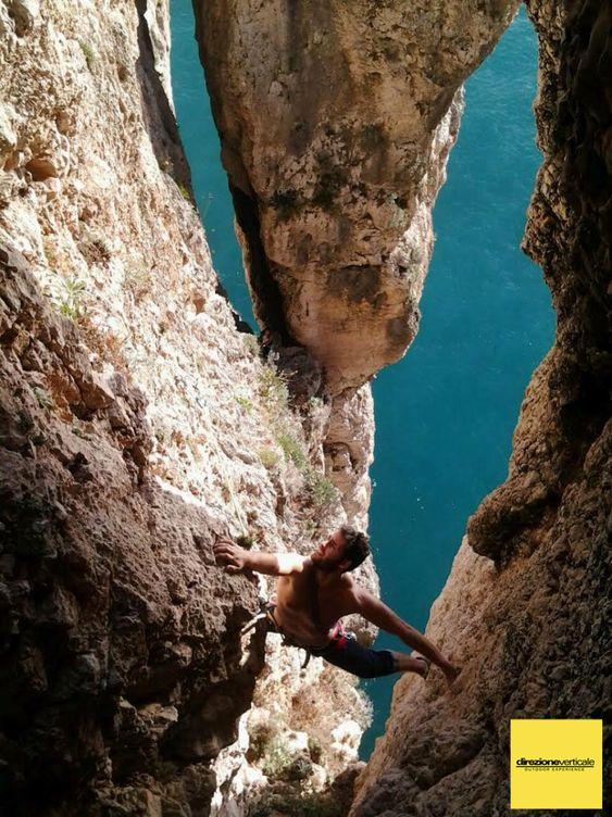 Stage Multipitch (vie lunghe ) tra Punta Campanella e Gaeta: il resoconto, croce del sud, beatrice, ragno di mare