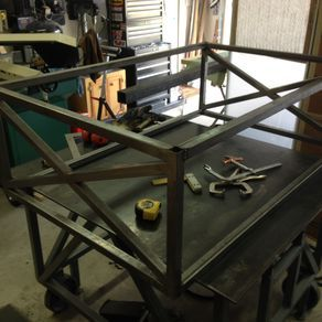 Love this from @custommade - http://www.custommade.com/metal-x-coffee-table/by/gearheadoriginals/