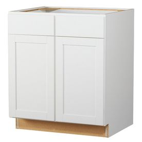 Best Kitchen Classics 30 In Arcadia White Door And Drawer Base 400 x 300