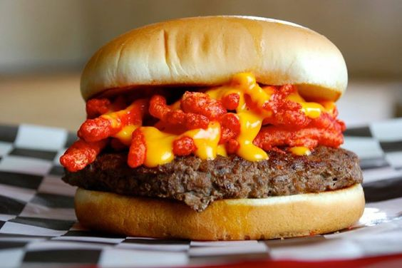 Cheetos Cheese Burger And Burgers On Pinterest