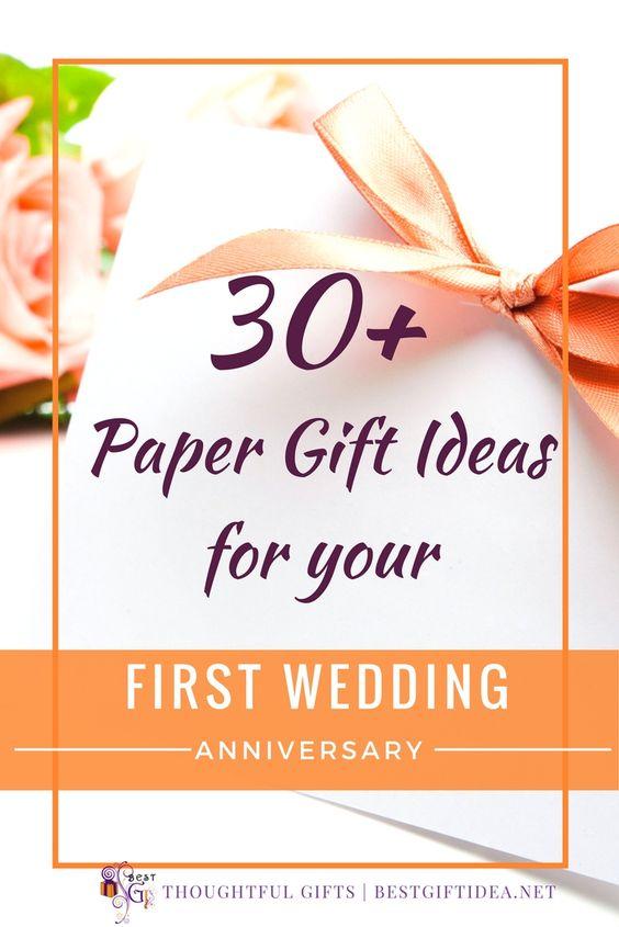 paper wedding anniversary ideas
