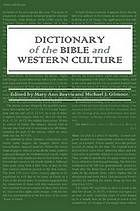 Dictionary of the Bible and Western culture #Bible #WesternCulture July 2014