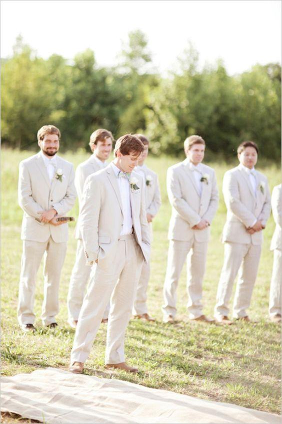 Wedding Trend - Casual Groom Attire