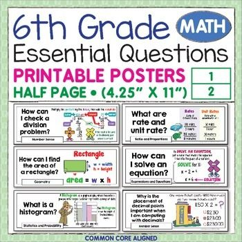 Easy 6th grade topics?