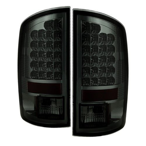 Spyder Auto 5002655 Led Tail Lights Fits 07 09 Ram 1500 Ram 2500 Ram 3500 Chrome Smoke Led Tail Lights Dodge Ram 1500 Accessories Dodge Ram