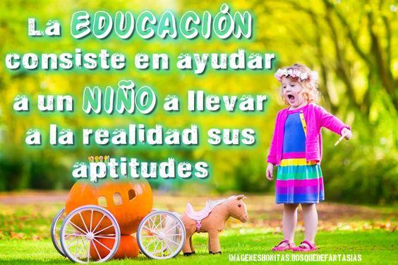 IMÁGENES EDUCATIVAS ® Fotos educativas para niños, frases para profesores