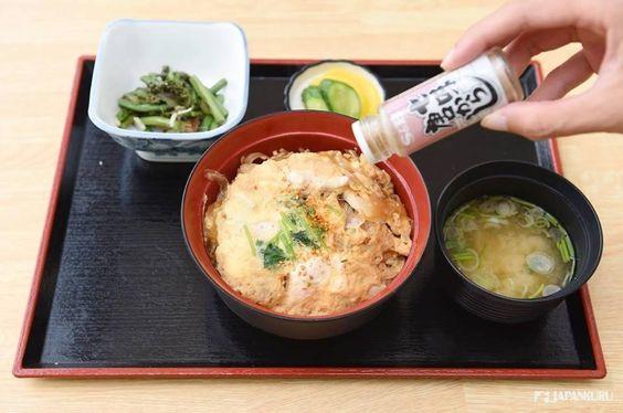 Seven-flavor chili pepper, Shichimi ^^ ※ Kanda-ya's Oyakodon by Tsukuba Express  #tsukubaexpress #tsukuba #tokyo #100tokyo #akihabara #japan #cooljapan #japankuru #train #mounttsukuba #tsukubasan
