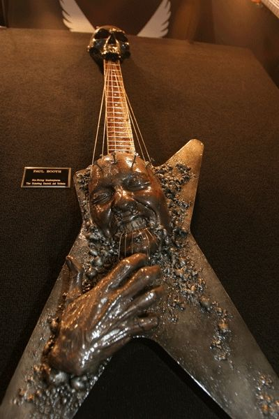 Dimebag Darrell Tribute Dean Guitar <3 WOW