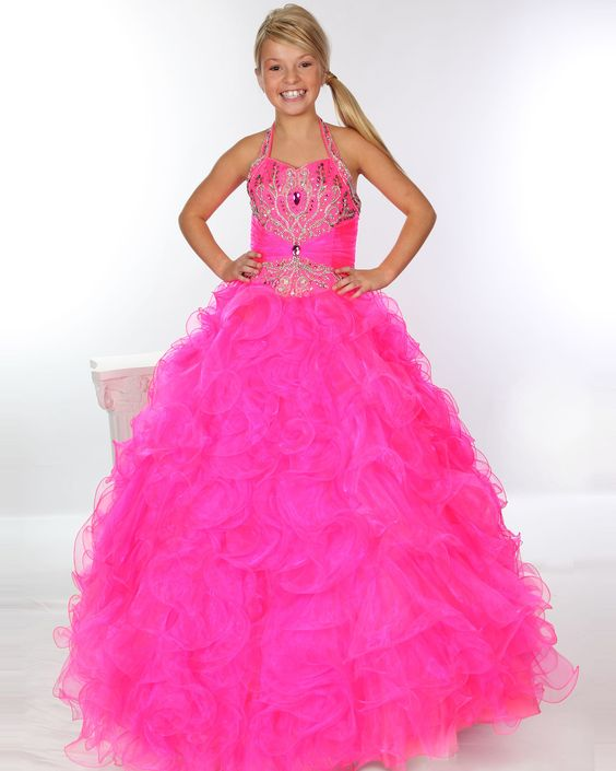 Tween Girls Dresses  Neon Dresses For Tweens Pageant dress for ...