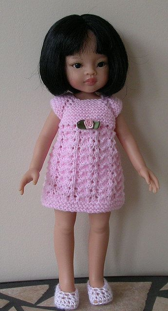 Ravelry: LC10 Top Down Trio for 13 and 14 inch dolls pattern by Jacqueline Gibb