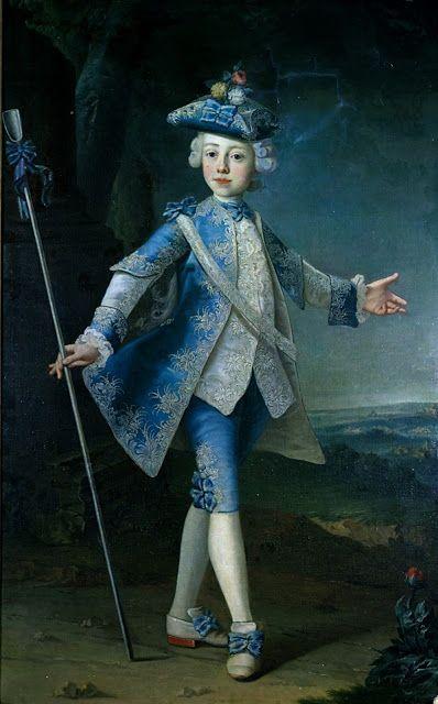 Портрет молодой граф Hardegg, гр.  1730 немецкий