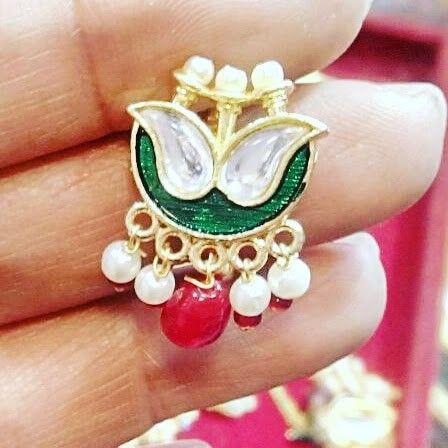 Rajasthani Nose Pin Besar Watsapp 9119114499 Rajputi