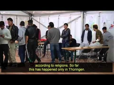 GERMAN police injured in yet another Muslim riot in illegal alien center | BARE NAKED ISLAM