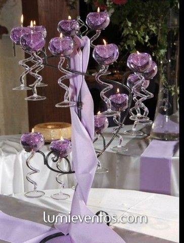 Aprende A Como Hacer Candelabros Con Velas Para Decoracion De Mesa Para Fiestas Paso A Paso Curso Gratis Beautiful Table Settings Beautiful Table Party Decorations